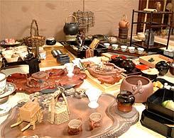 茶道具の一例